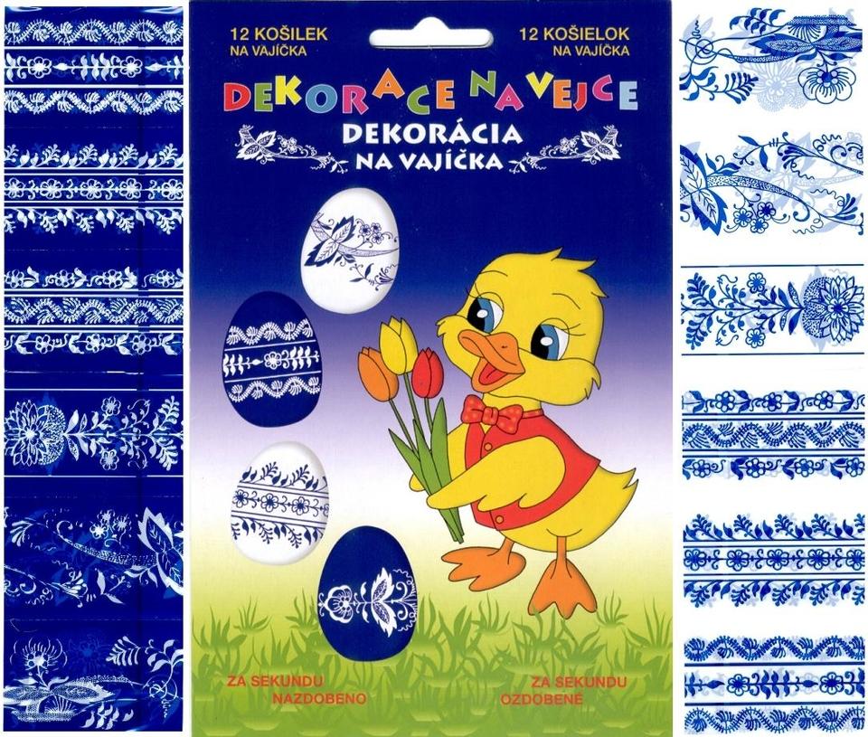 Zmršťovacia fólia na vajíčka 12ks