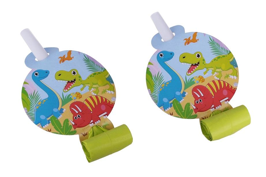 Párty frkačky dinosaurusy 6ks