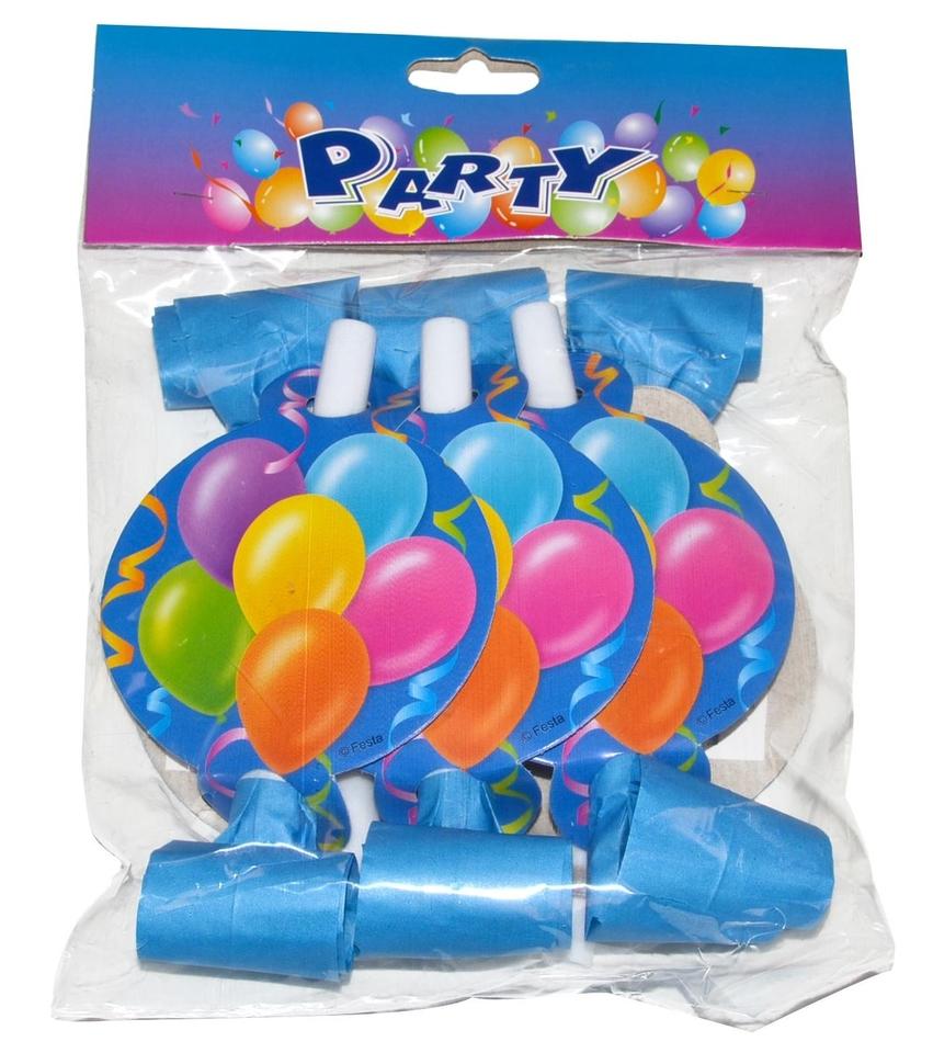 Párty frkačky balóny 6ks
