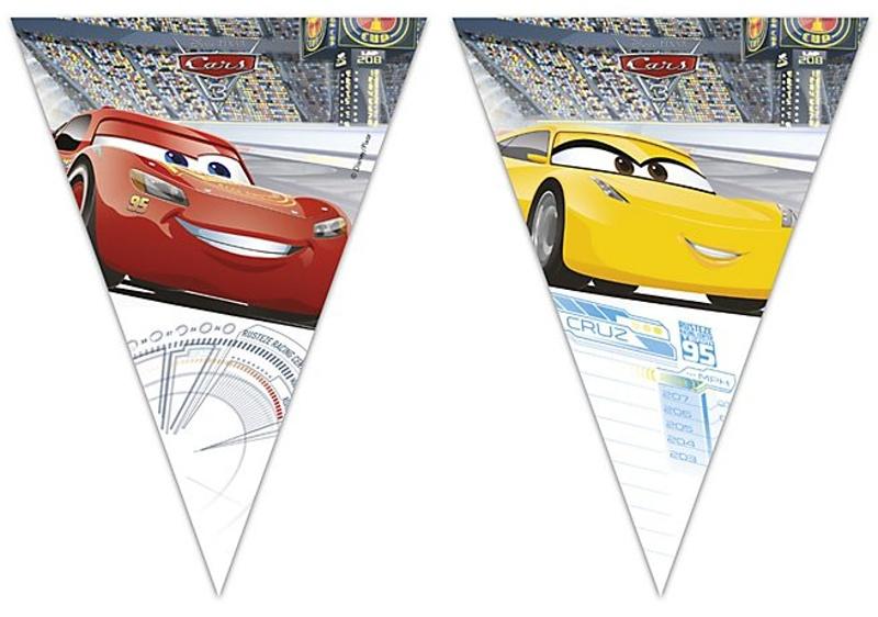 Girlanda Cars 2,3m
