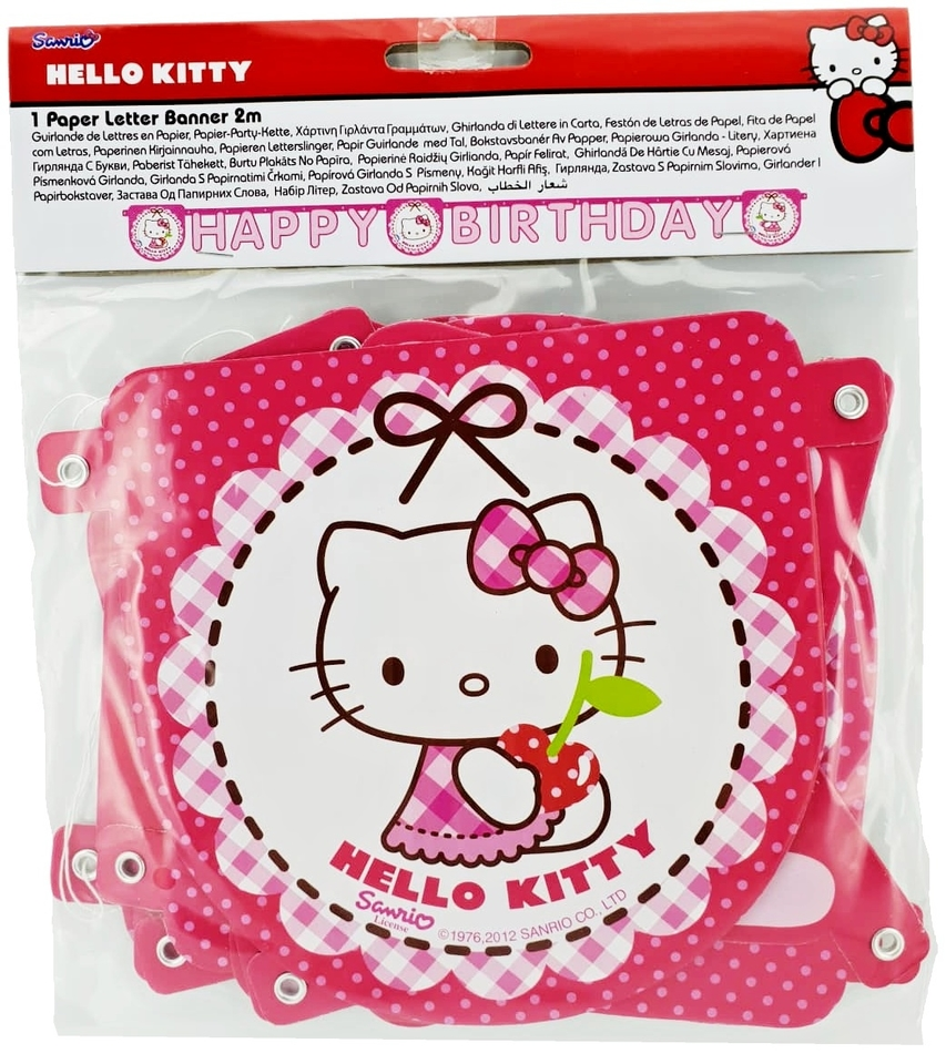 Girlanda Hello Kitty 2,4m