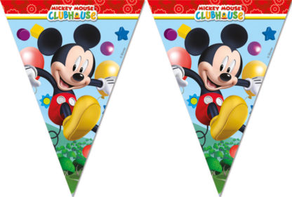 Vlajková girlanda Mickey 2,3m