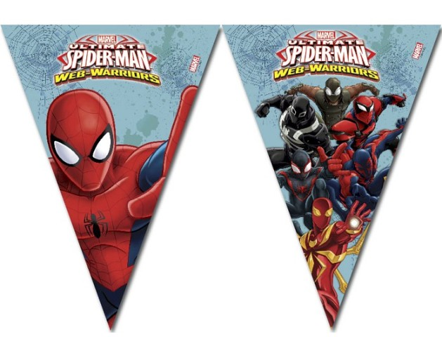 Girlanda Spiderman 2,3m