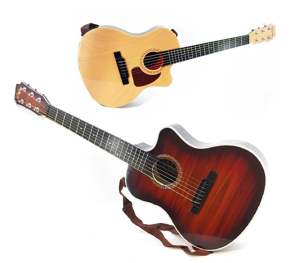 Detská gitara 80cm 2farby - svetlohnedá