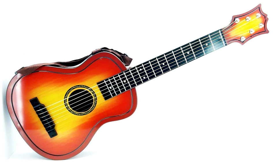 Detská gitara s púzdrom 30x80x7cm