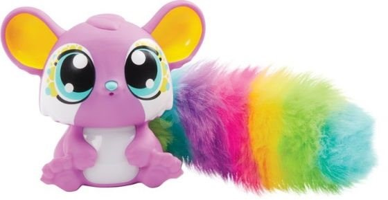 Mattel LiĽ Gleemerz veverička fialová