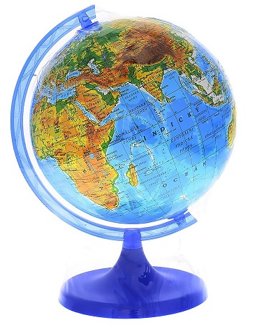 Glóbus Zemepis 16 cm