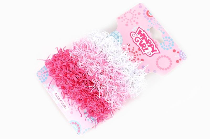 Gumičky do vlasov ružové 3ks