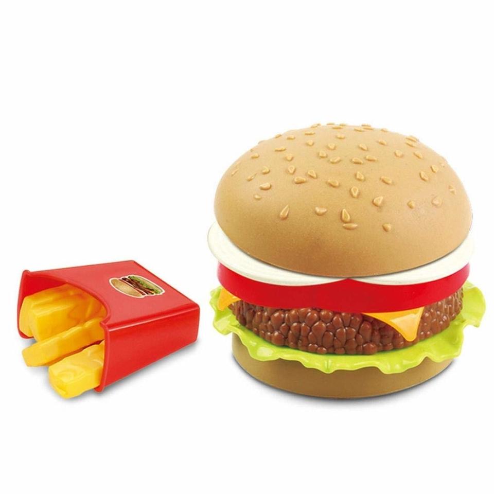 Hamburger s hranolkami