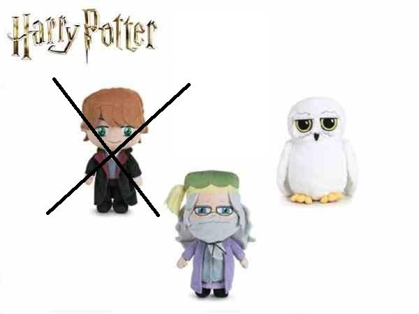 Harry Potter plyšový 20cm/4druhy