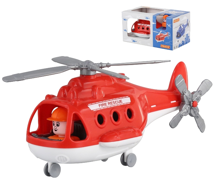 Helikoptéra Fire rescue 28cm