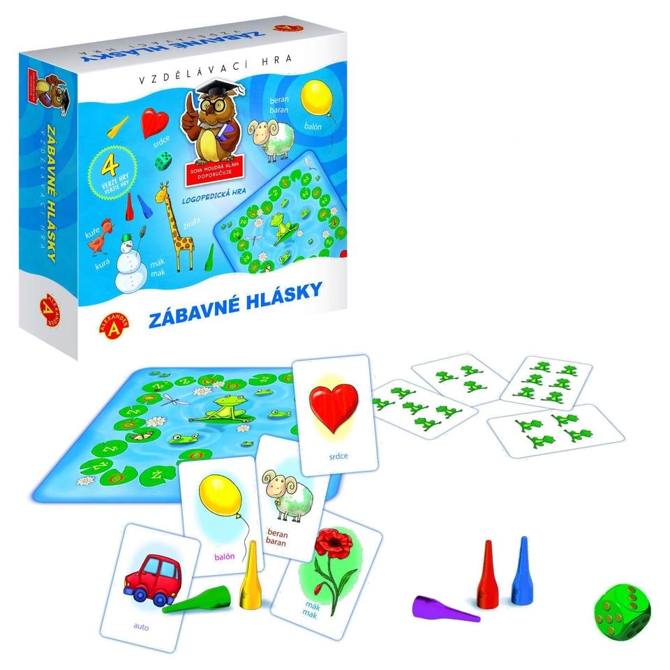 Zábavné hlásky - vzdelávacia hra