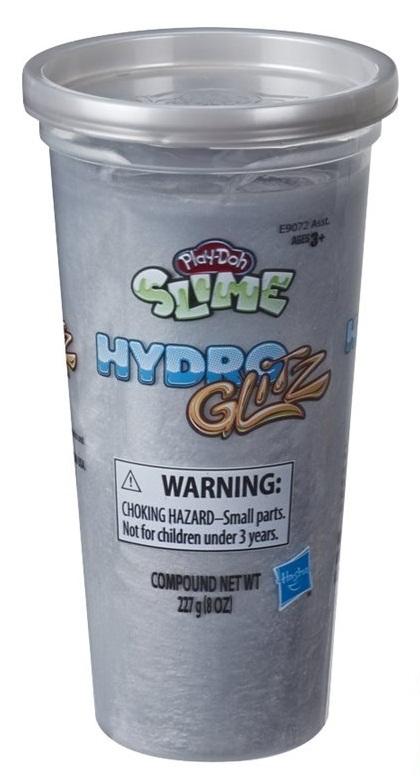 Play-Doh Hmota Hydro Glitz strieborná