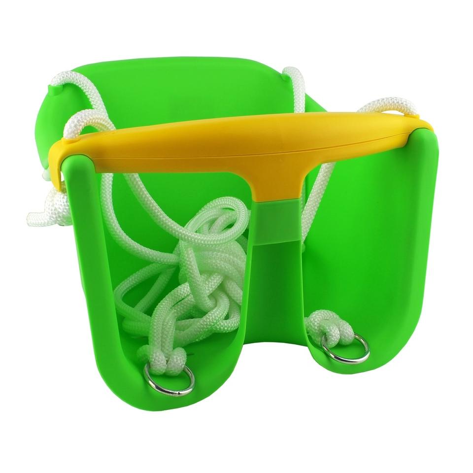 Plastová hojdačka Baby 32x25x29cm - zelená