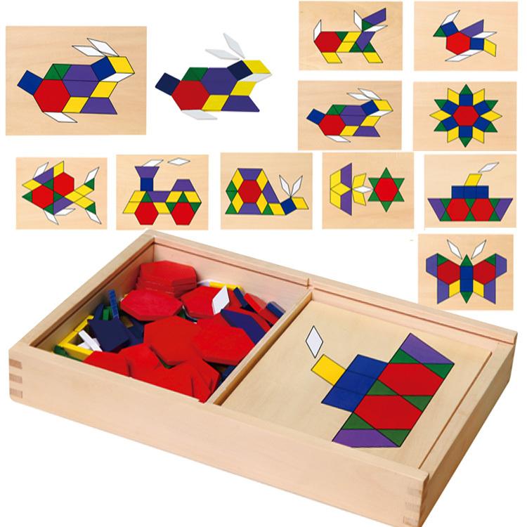 Viga geometrická mozaika 148 dielikov