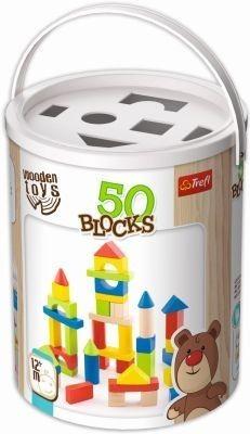 Hra drevená - tvary 50ks