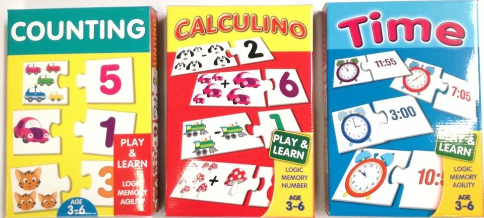 Hra logická mix - calculino (matematika)