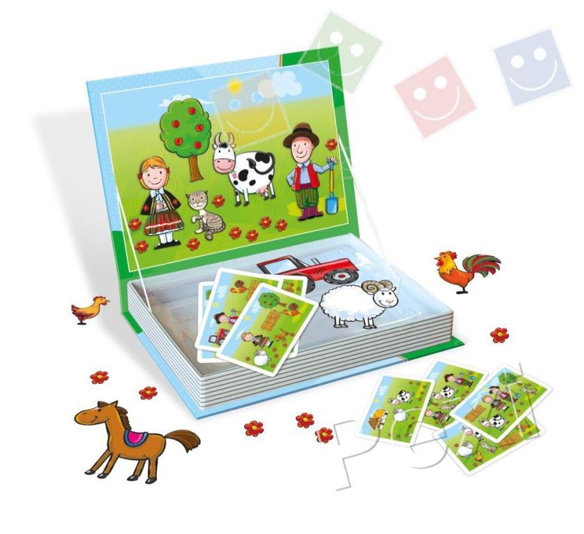 Hra magnetická farma