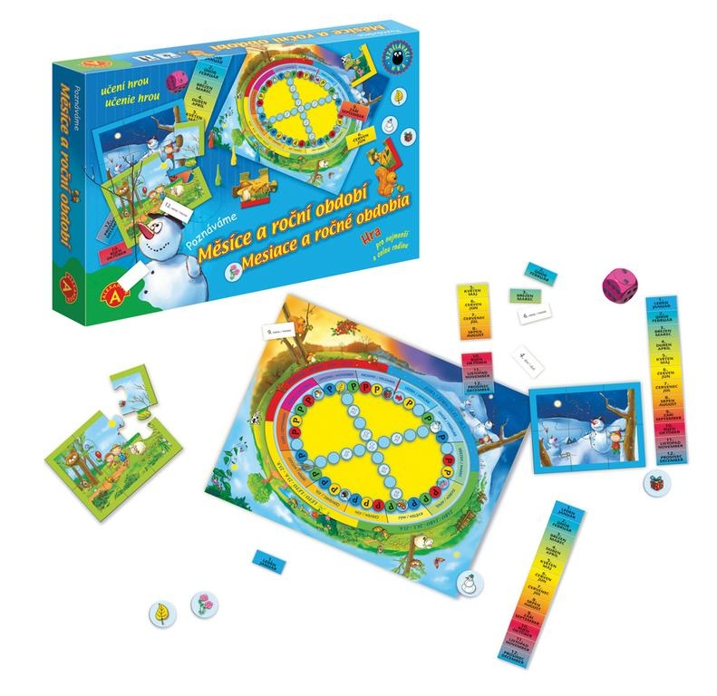 Učenie hrou - Mesiace a ročné obdobia
