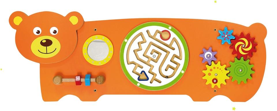 Detská drevená nástenná hra