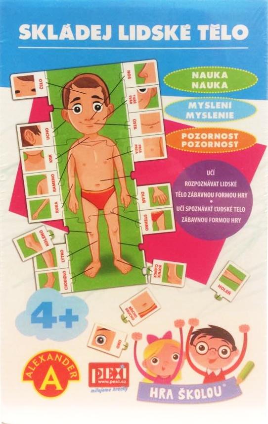Náučná hra - Ľudské telo