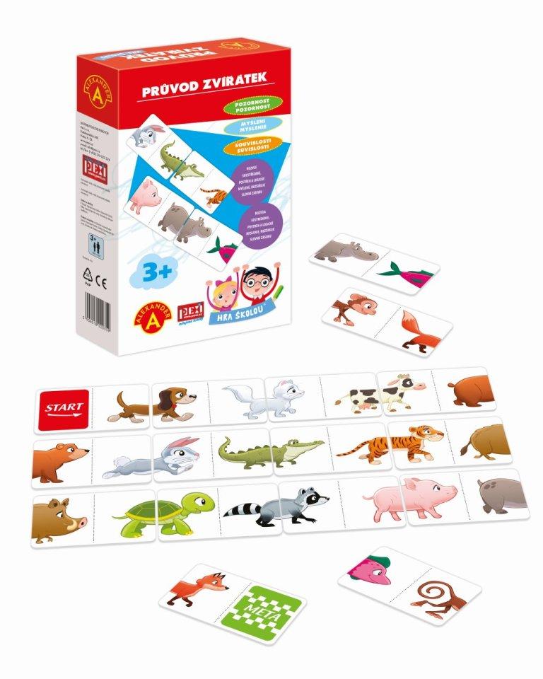 Hra školou - zvieratká