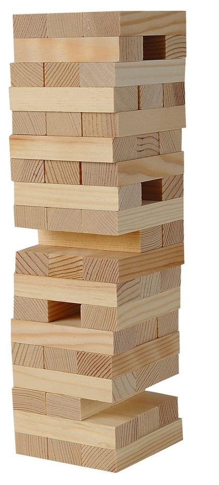 Hra veža Jenga Drevo 48ks