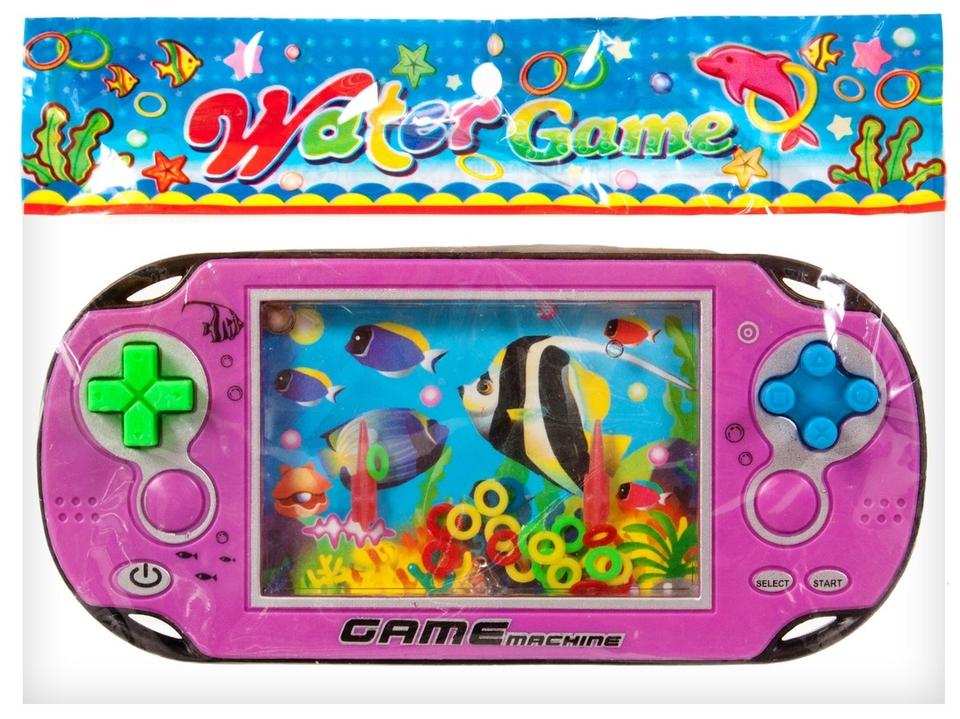 Vodná hra v tvare hernej konzoly - modrá