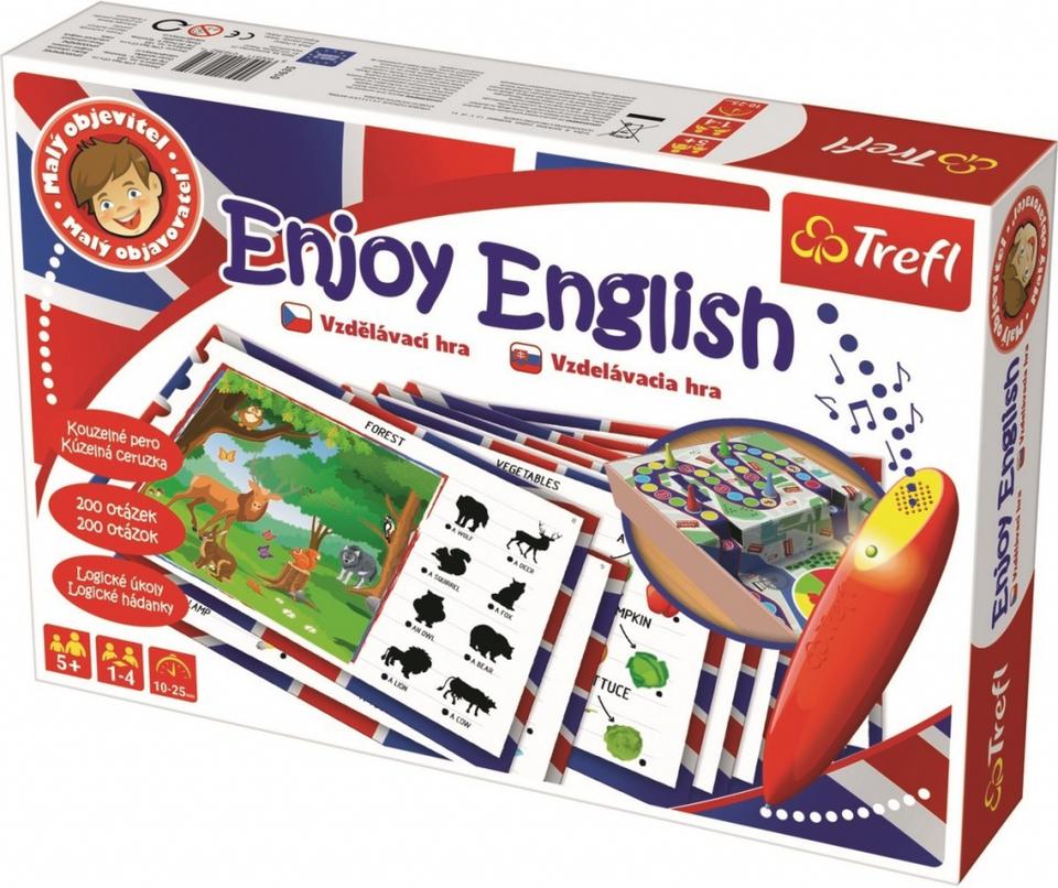 Trefl Malý objaviteľ Enjoy English magické pero