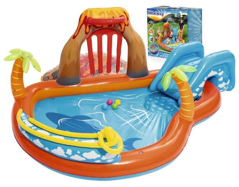 Bestway 53069 nafukovací bazén 265x265x104cm