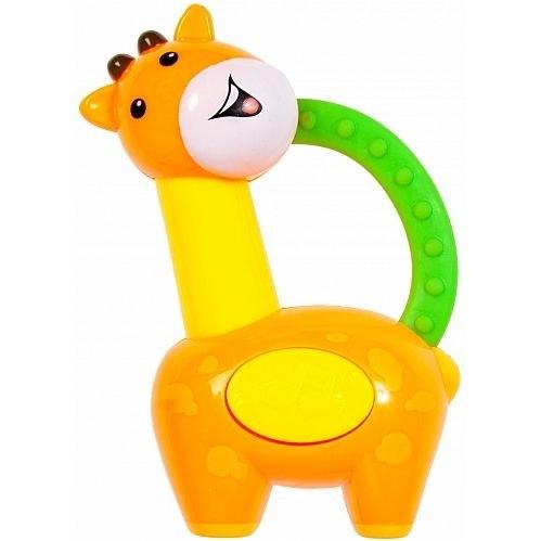BamBam Hrkálka/hryzátko žirafa - zelená