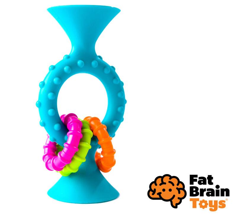 Fat Brain hrkálka Pipsquiz Loops modrá