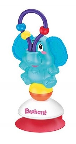BamBam Hrkálka slon s prísavkou