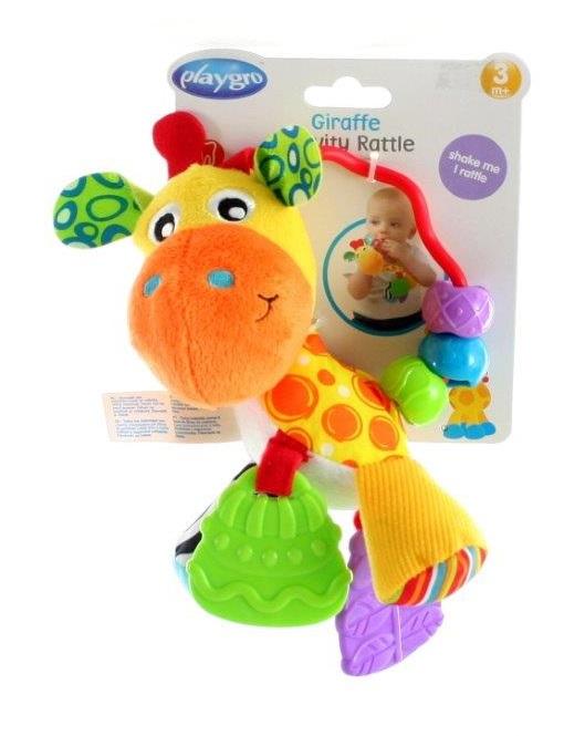 Playgro Hrkálka Žirafa