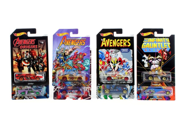 Auto Hot Wheels Avengers