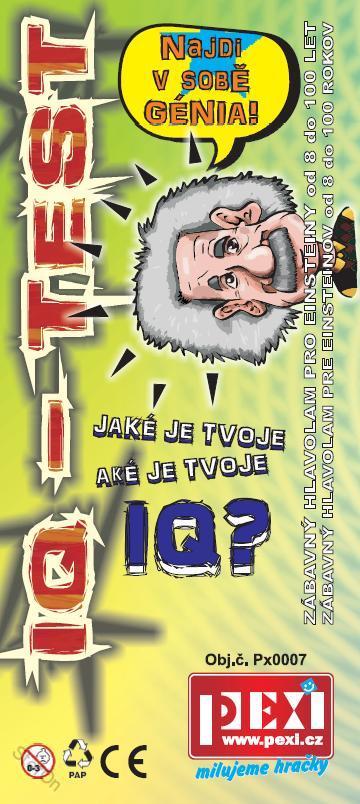 IQ Test - Hlavolam