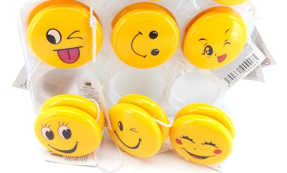 Jo-jo Smile s efektami 6,5 cm