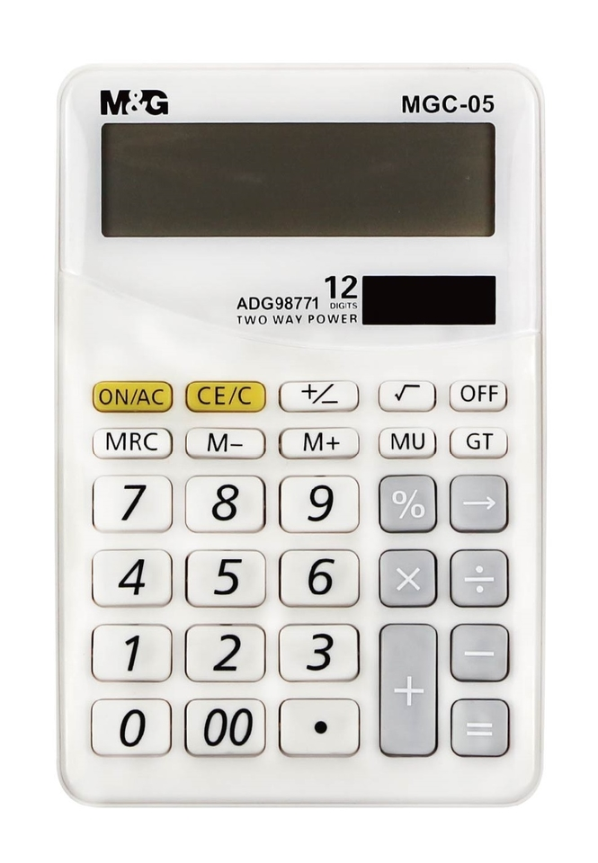 Kalkulačka 10x15x2cm