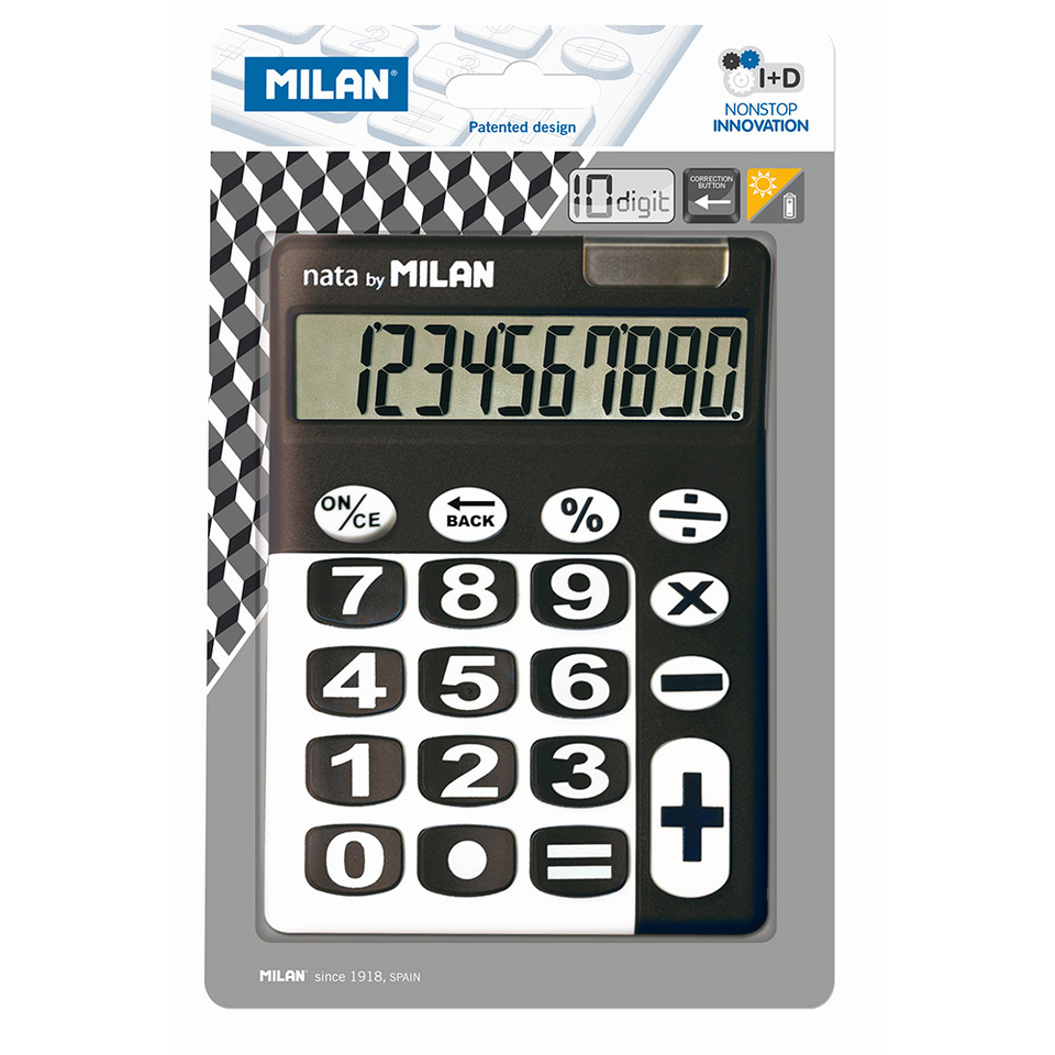 Milan Solárna kalkulačka 10 dig.