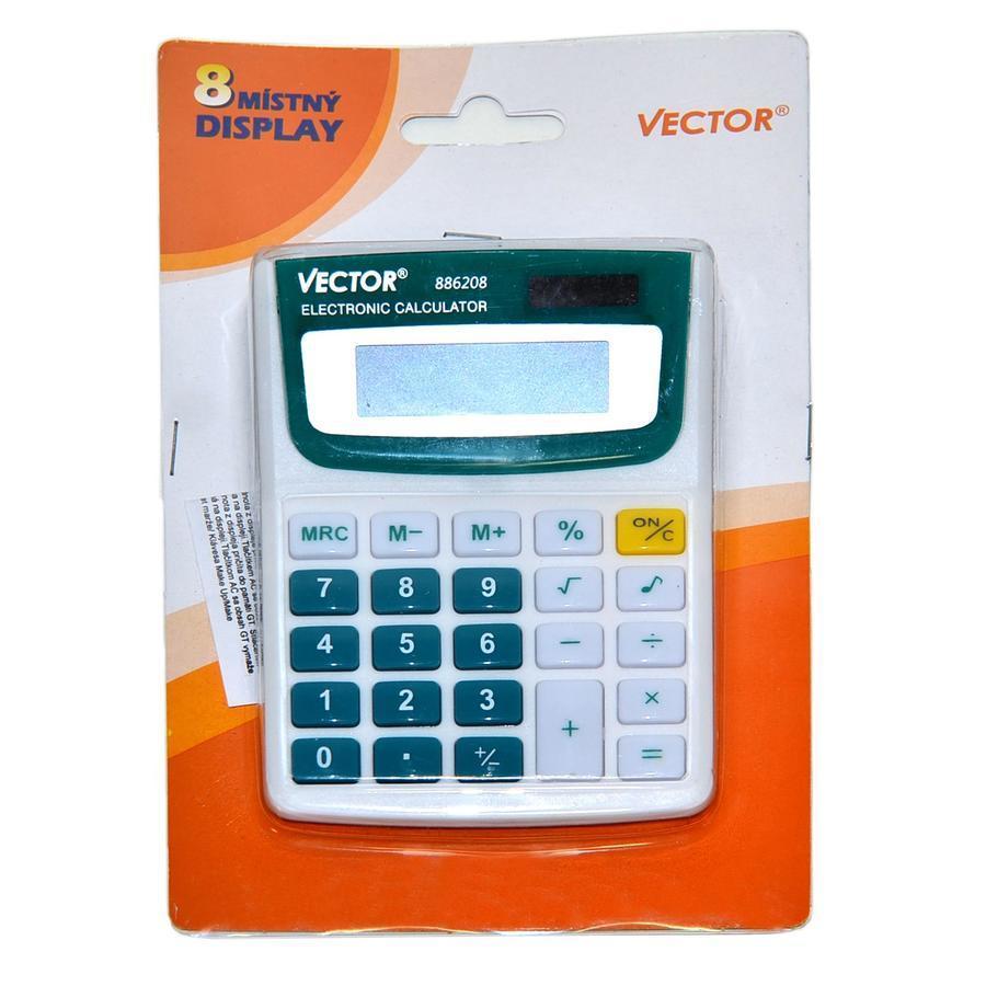 Kalkulačka duálne napájanie