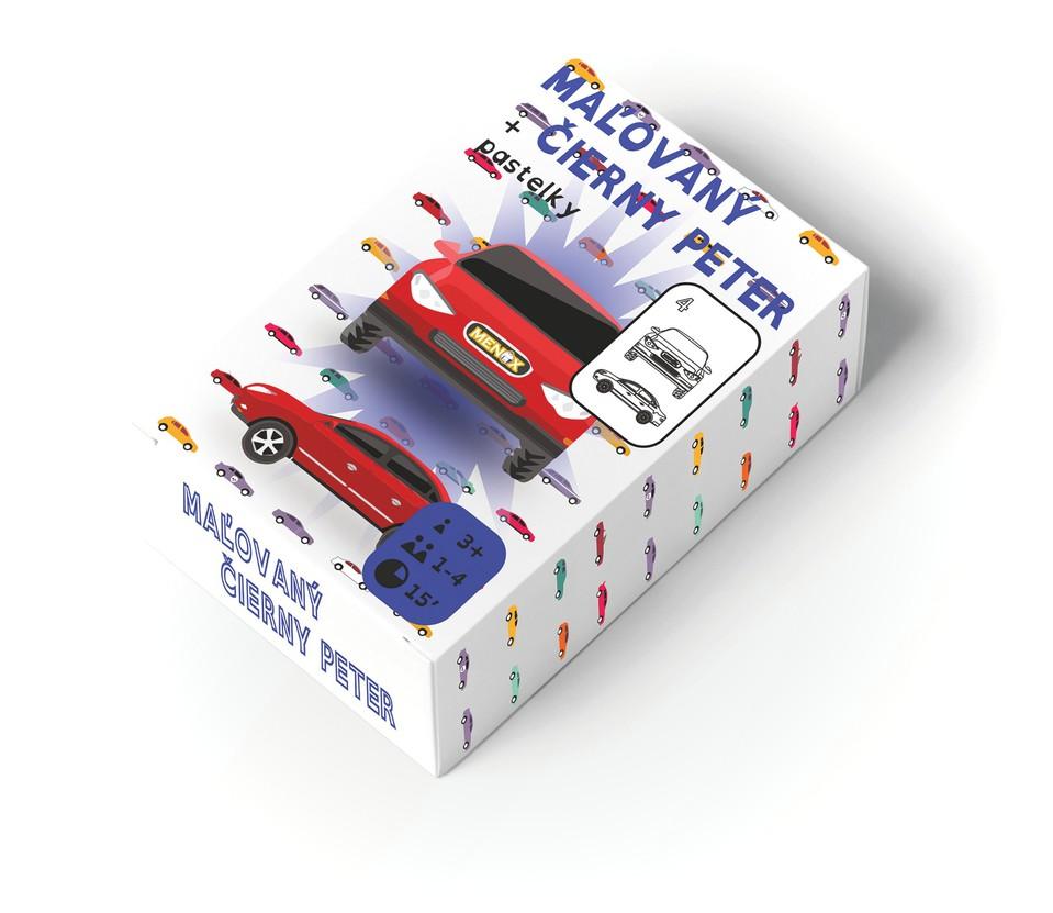 Karty Maľovaný Čierny Peter autá