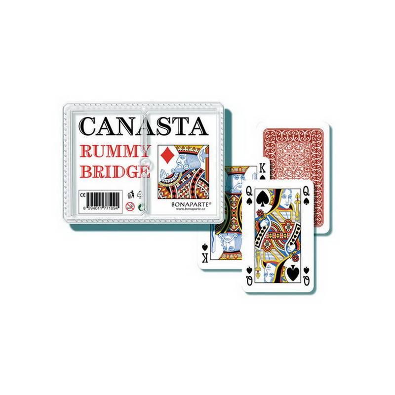 Karty canasta plastový obal