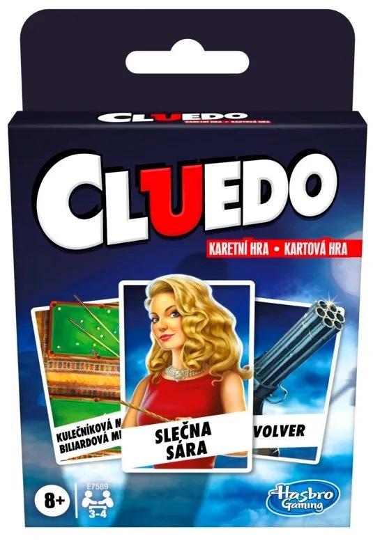 Hasbro Karty Cluedo