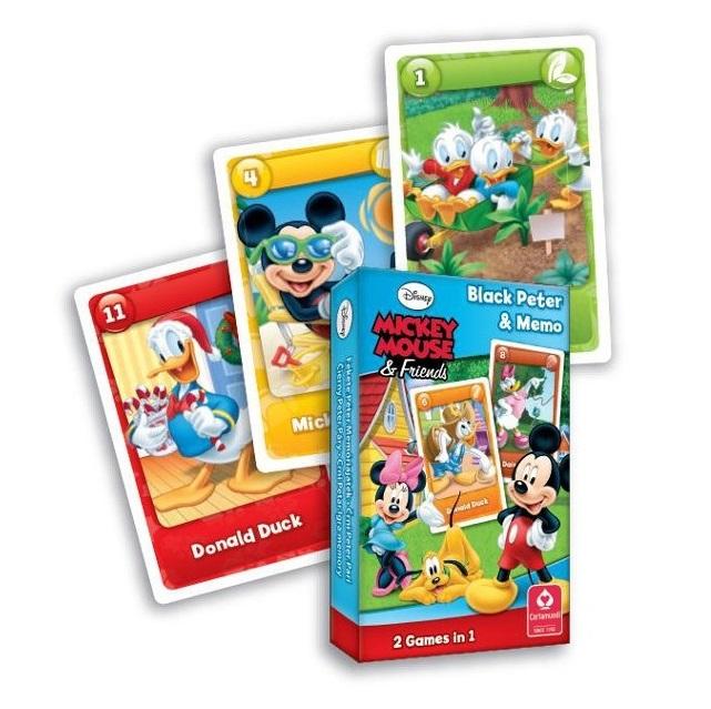 Karty Čierny Peter Mickey