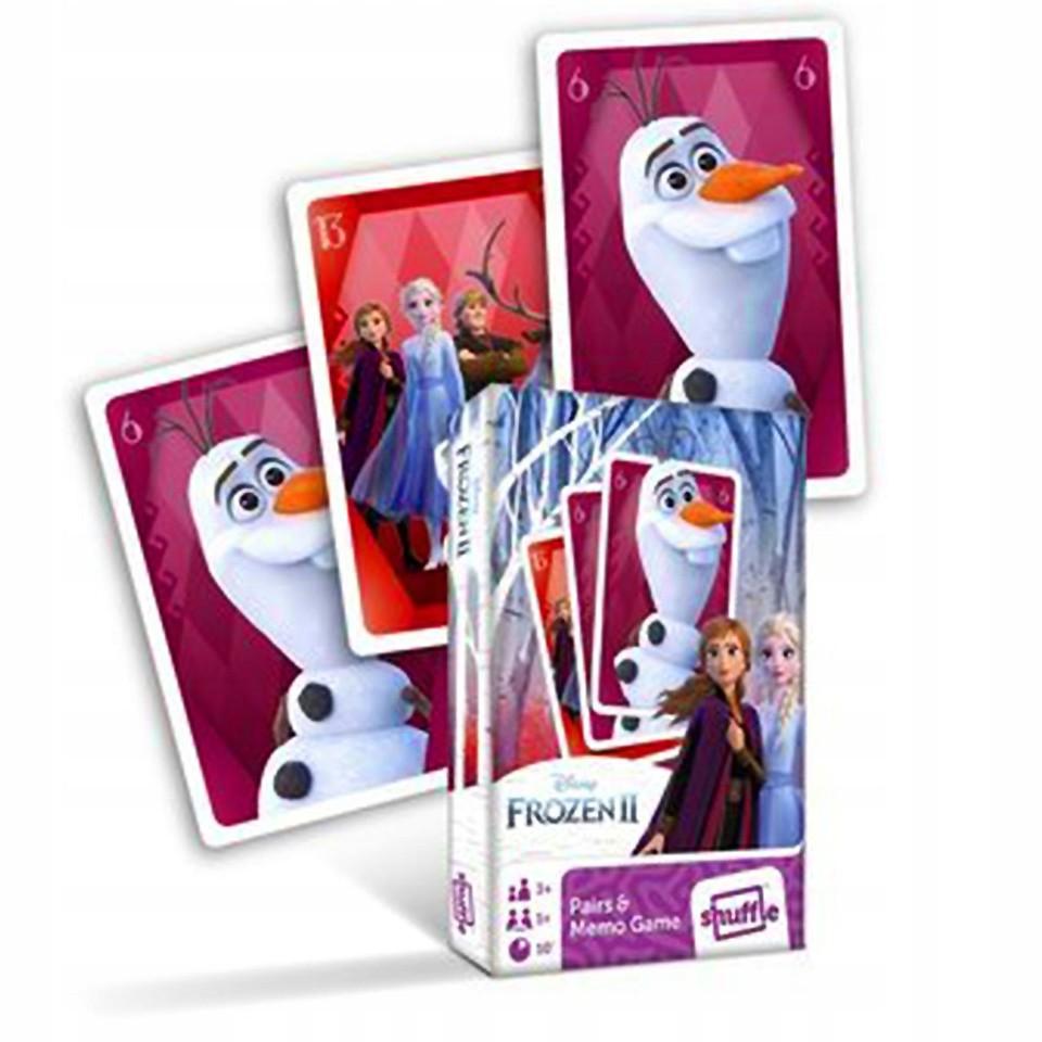 Karty Čierny Peter Frozen