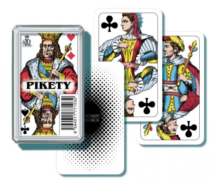 Karty Mariáš Pikety plastový obal