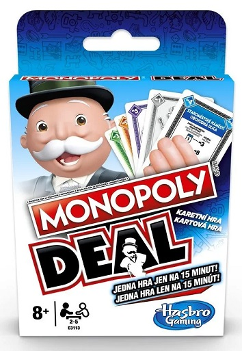 Hasbro Karty Monopoly deal