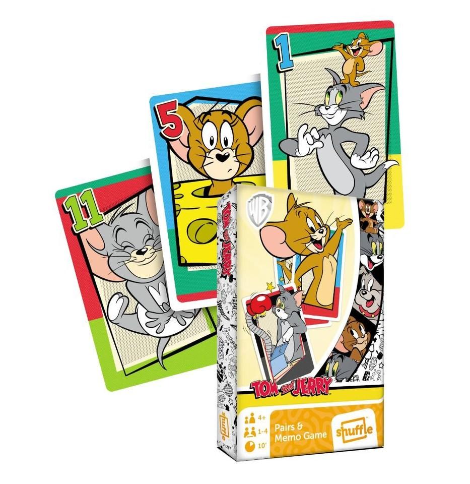 Karty Čierny Peter Tom a Jerry