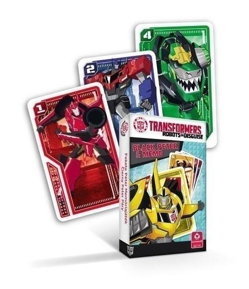 Karty Čierny Peter Transformers