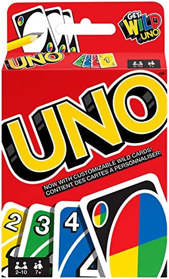 Spoločenská hra karty UNO
